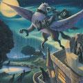 Sirius s'échappe de Poudlard à dos d'Hypogriffe (Tome 3)