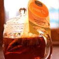 フィットネスティー。ルイボスにペパーミント、レモングラスなどのハーブをブレンド。爽やかな香りが特徴 ¥500
