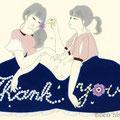 Thank you(展示作品/Thank you card展)