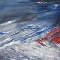 Brandung II, Öl auf Leinwand, 70 x 100 cm