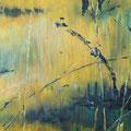 Gegenlicht, Öl auf Hartfaser, 91,5 x 128 cm