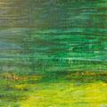 o.T., Öl auf Hartfaser, 77,5 x 114 cm