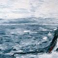 Brandung I, Öl auf Leinwand, 70 x 100 cm