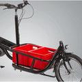 Pfau-Tec Carrier Lasten e-Bike Zubehör Kunststoffboxen für Frontträger