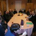 Rencontre avec les maires des communes de la paroisse