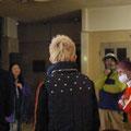 以前、越路もお世話になった居酒屋・魯曼停のご主人も会場に来てくださった。震災被害にあったお店を移転させ石巻グランドホテル内にNew魯曼停(仮称)をオープンさせるお話を伺った。