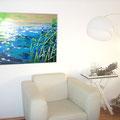 "2. Ansicht: ""Seaside"", Acryl auf Leinwand,100x80cm"
