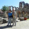 mit Freundin in Nessebar