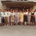 Klassentreffen 25 Jahre später