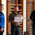 Die Wettkampfleitung: Peter Böhmal, Christian Koreng und Jan Rehor