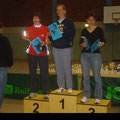 Das 2. Mal auf Treppchen! Raesfeld Mai 2006 / 3. Platz in der W35 / 5 KM in 28:59