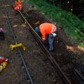 Sanierung Schienenlängsbruch