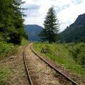 Zufrieden fahren die Erzbergbahner nach Hause