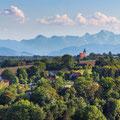 Blick nach Hofkirchen