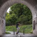 Rob - schöner Ollie im Tunnel