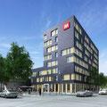 Frankfurter Europaviertel: Mövenpick Hotel | Fotos: Vivico Real Estate