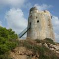 Domus de Maria (Haus der Maria), Turm von Chia
