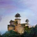 MOUNT ABU, Indien 2009, Acryl auf Leinwand 80 x 80 cm