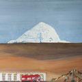 KAILASH  2, Tibet 2015,  Acryl auf Leinwand, 95 x 75 cm