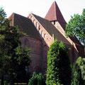 Ein gut zu findendes Wanderziel: die alte Wehrkirche von Groß Mohrdorf