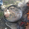 da kochen die Innereien