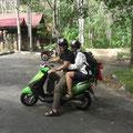 Scooter tour, Langawi Island, Malaysia