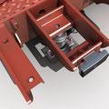 Modulare Stahl-Brückenwaage