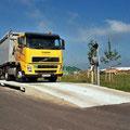Straßenfahrzeugwaage die Flexible