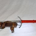 Réf. : GM067 épée une maim et demie    Prix: 200 € plus fourreau en cuir 115 €