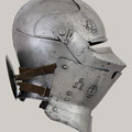 Armet with Wrapper, ca. 1460–70 (armet), 1450 (wrapper) Italian Steel