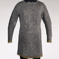 Mail shirt, 15th century Southern German Steel, brass