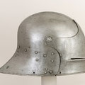 Visored sallet, ca. 1470–85 Hans Blarer the Younger (recorded 1453–83) German/Swiss (Basel) Steel