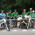 Team e-motion bei der Slow Up in Brugg