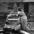 Bénédiction, Arul Ashram, Pondicherry, Inde