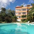 Appartement Caoba Las Terrenas : résidence avec piscine & jardin tropical