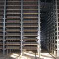 Secadero en máquinas bloques hormigón