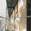 Putzausbesserung und Anstricharbeiten an der Schloßfassade (außer Westfassade)