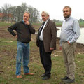 mit Gorm Benzon (dänischer Pionier im Erhalt von Haus- und Nutzrierrassen und weltweit einziger Züchter des dänischen Glöckchenschweins)