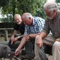mit Eckhardt Rehberg (MdB) & Peter Loebnitz (Gründer des Parks)