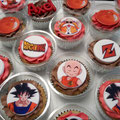 cupcake tres leches dragon ball