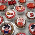 cupcake tres leches dragon ball