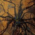 Spinne • 1983 • Mischtechnik auf Karton • 60 x 80