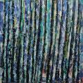 Waldweg • 2015 • Acryl auf Leinwand • 120 x 120