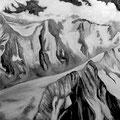 Gletscher • 2009 • Öl auf Leinwand • 130 x 100