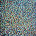 Mikroben • 2019  • Öl auf Leinwand • 40 x 40