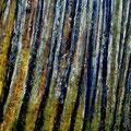 Bäume • 2015 • Gouasche auf Leinwand • 60 x 70