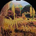 Toskana • 2011 • Öl auf Holz • 100 x 120