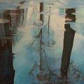 Spiegelung • 2009 • Öl auf Leinwand • 100 x 100