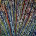 Struktur • 2015 • Gouasche auf Leinwand • 100 x 140