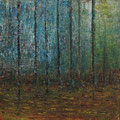 Waldstück • 2015 • Öl auf Leinwand • 120 x 120